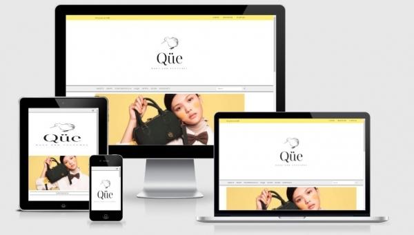 Screenshot Toko Online Que Official